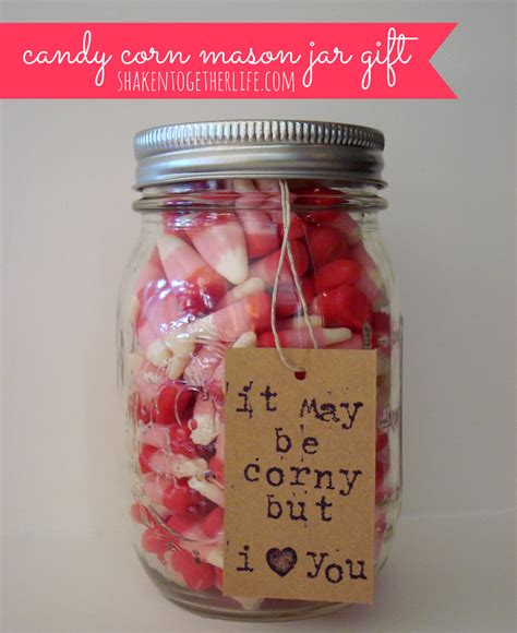 corny christmas gift ideas corn jar gift