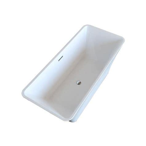 rectangular freestanding bathtub freestanding acrylic rectangular soaking bathtub