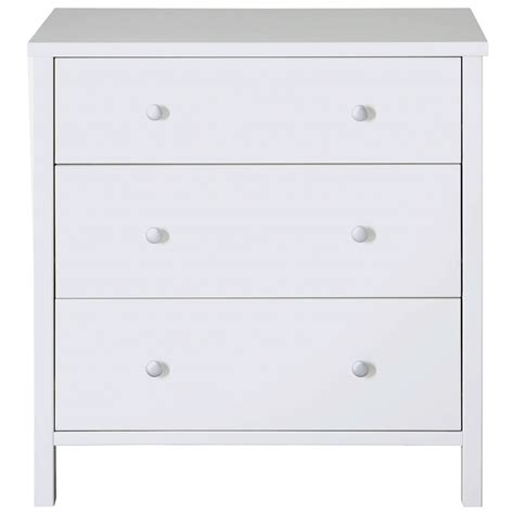 White Drawers by Steens Stockholm 3 Drawer Chest In White