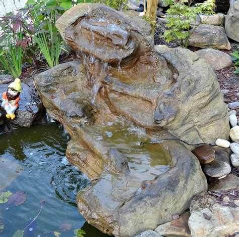backyard waterfalls kits patio pond pool waterfall kits backyard water rock features