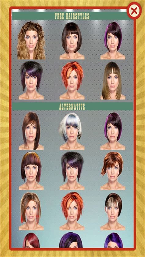 app of hairstyles basic hairstyles for what hairstyle suits me which haircut