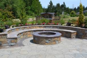 building a fire pit construction and safety advice all oregon landscaping