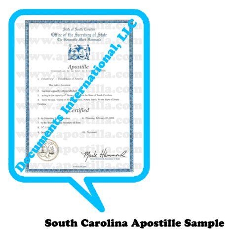 Of South Carolina International Mba Program by Apostilla De Carolina Sur Apostilla