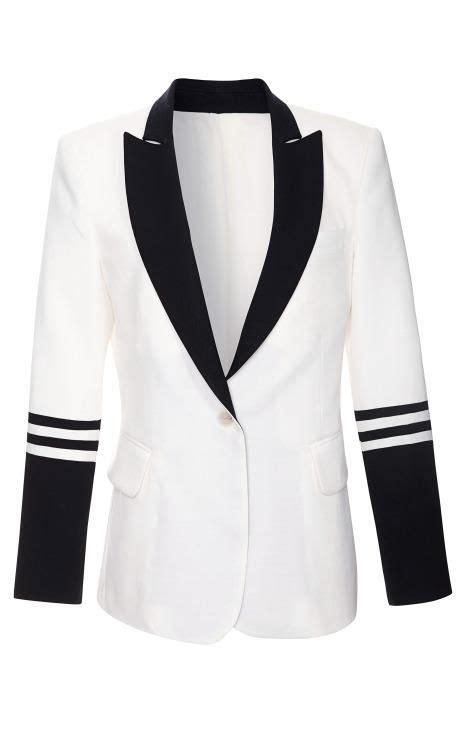solid linen anais nautical blazer by equipment for