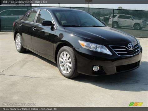 2011 Toyota Xle 2011 Toyota Camry Xle V6 In Black Photo No 45923794