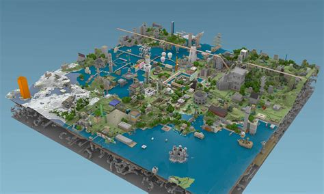 minecraft world map city homes picture of the day quakewiki