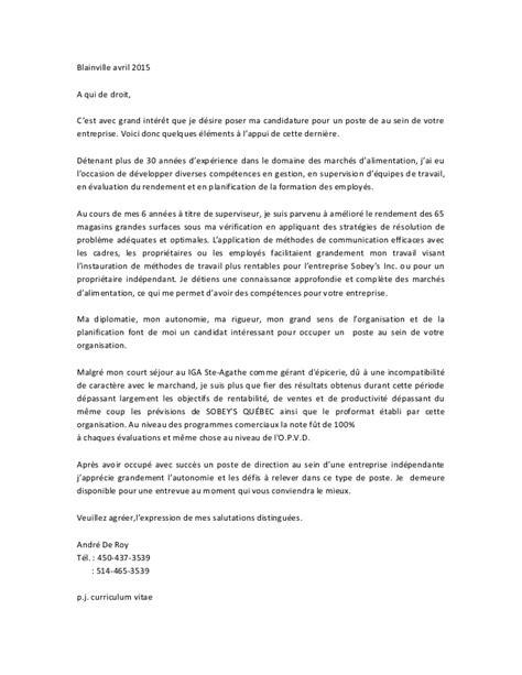 Lettre De Présentation Biochimie Lettre De Pr 233 Sentation 19 Avril 2015