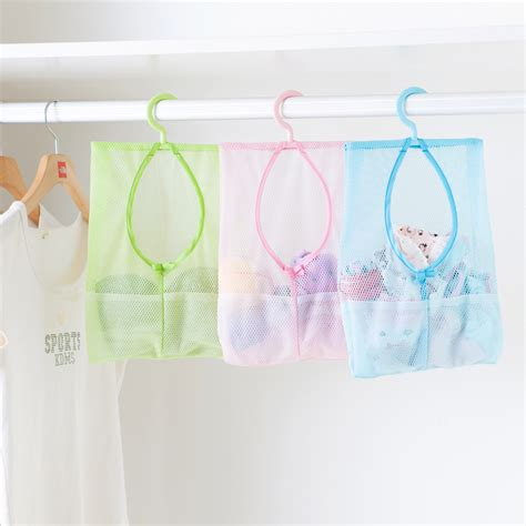 New Pink Multifunction Wardrobe Cloth Rack With Cover Lemari multi purpose mesh bag bathroom hanging storage bag clothes organizer laundry bags