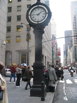 street clocks forgotten new york