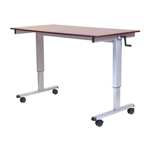 Luxor Furniture Standup Cf60 Dw Adjustable Stand Up Desk W Stand Up Desk Furniture