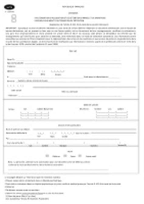 Demande d'autorisation d'acquisition et de détention d