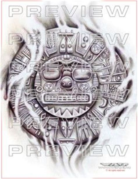 aztec sun god tattoo designs amazing inti inca sun god design aztec