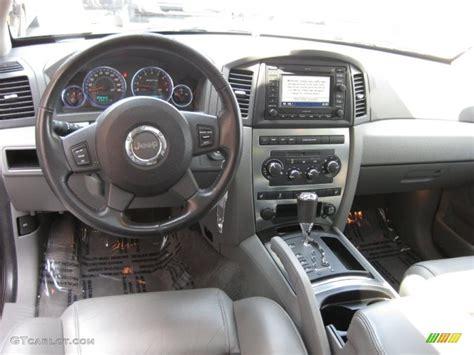 Grand Jeep Interior Medium Slate Gray Interior 2006 Jeep Grand Srt8