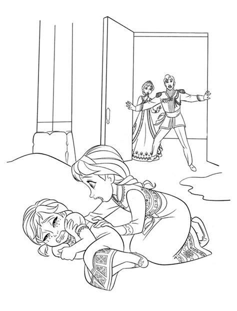 dibujos para colorear de elsa y anna frozen princesas disney elsa y anna frozen para pintar dibujalandia