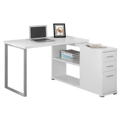 Computer Desk With Facing Corner White Everyroom Target Corner Desk Target