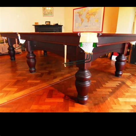 10 ft pool table 10ft mahogany snooker table