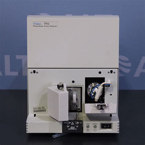 photo diode array detector in hplc waters 996 photodiode array detector