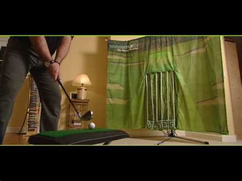 indoor golf swing practice targetline the indoor golf swing trainer youtube