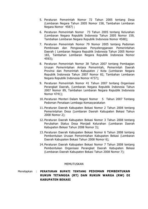 Acrylic Lembaran Di Bekasi peraturan bupati bekasi no 16 tahun 2010 tentang pedoman