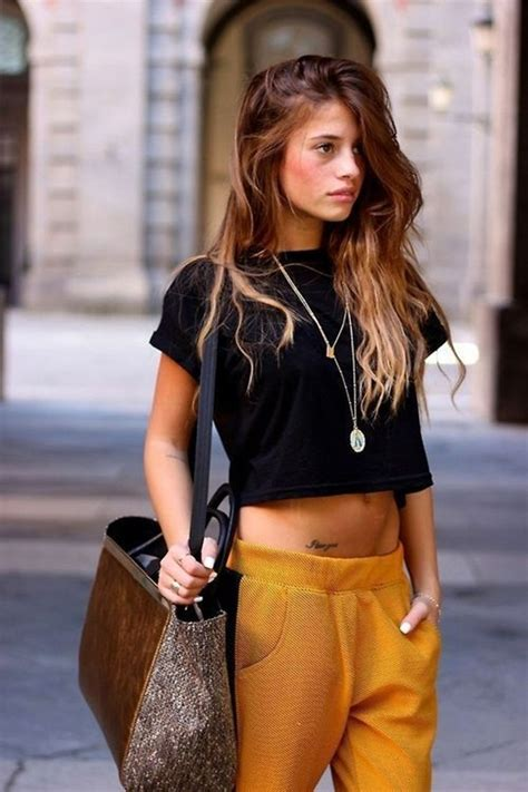 stunning crop top outfit ideas