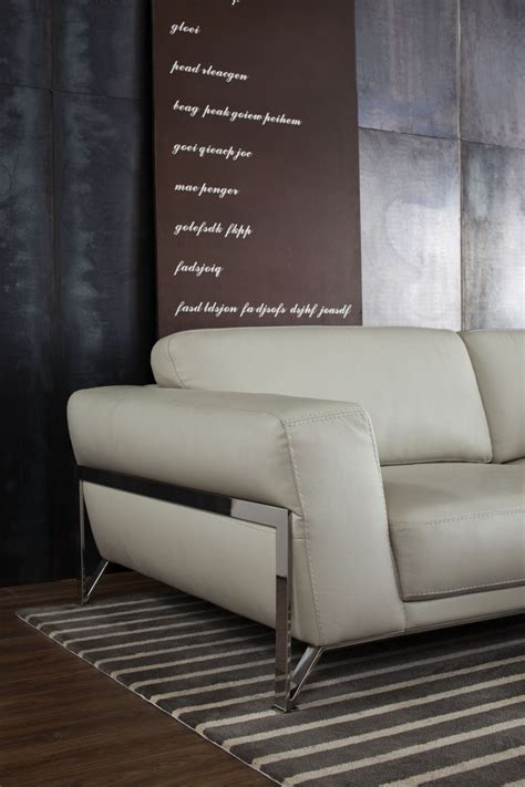 ff130c modern beige leather sofa set