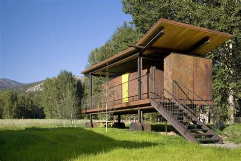 Interior Design Shipping Container Homes by Rolling Huts Olson Kundig Archdaily