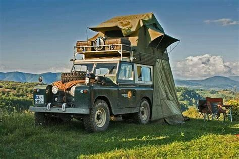 land rover safari roof expedition series 88 quot landrover with roof top tent