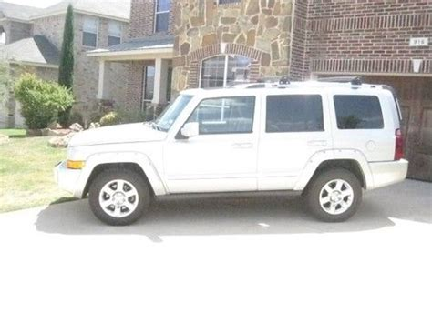 2008 Jeep Commander Overland For Sale Find Used 2008 Jeep Commander Overland Sport Utility 4