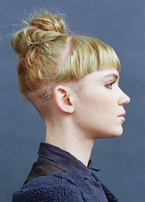 haircuts for women after brain surgery 21 best undercut hairstyles images on pinterest