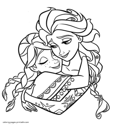 Printable Coloring Pages For Frozen by Free Printable Frozen Coloring Pages