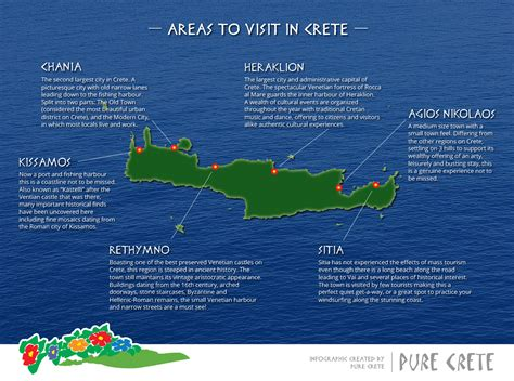 best places to see in crete areas to visit in crete crete