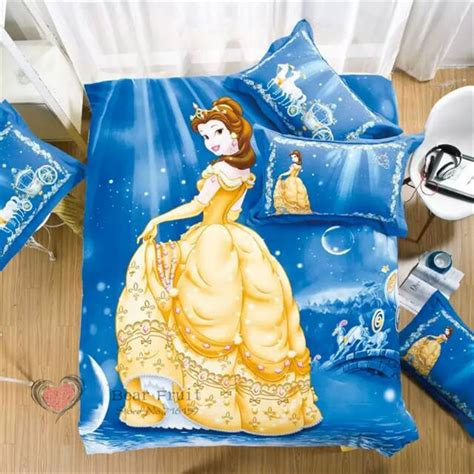 cinderella bedding belle cinderella princess cartoon kids bedding set sanging