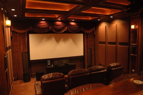 soundsuede acoustical panels traditional home theater
