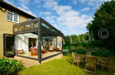 modern conservatory aluminium conservatories contemporary design ideas and
