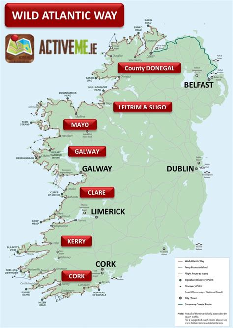 the scenic route a way through madness books atlantic way route map guide ireland activeme ie