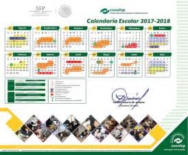 Calendario Escolar 2018 Mexico Calendario Escolar 2017 2018 Colegio Nacional De