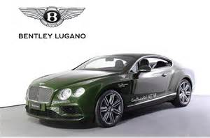 Bentley Racing Green Used Bentley Continental Gt V8 At Lugano