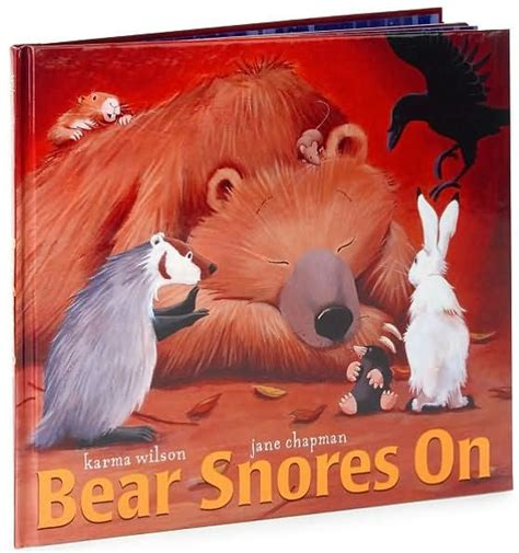 libro bear snores on bear snores on by karma wilson jane chapman hardcover barnes noble 174
