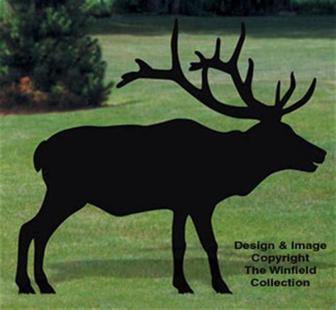 animals elk shadow woodcrafting pattern
