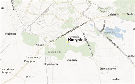 bialystok map bialystok weather station record historical weather for