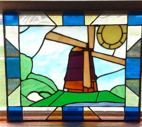 how to a stained glass l 36 best images about stained glass windmills on