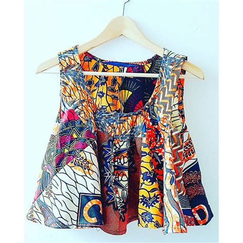 Ankara Crop Top Gift For Her Ethnic Fashion Ankara Fashion African | ankara crop top gift for her ethnic fashion ankara fashion