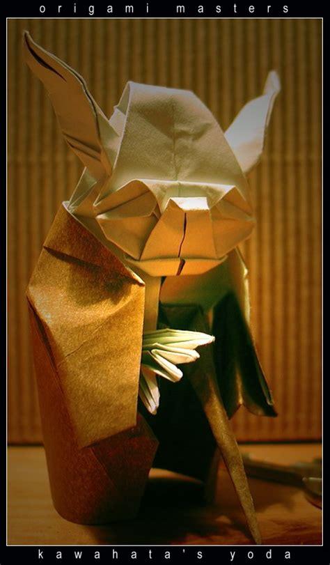 Origami Masters - origami masters kawahatas yoda by orsobrusco on deviantart