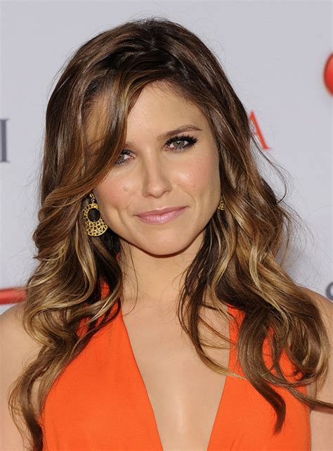 bush hairs the best sophia bush hair and makeup moments stylecaster