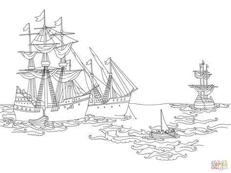 coloring pages of santa maria santa maria ship coloring pages coloring home