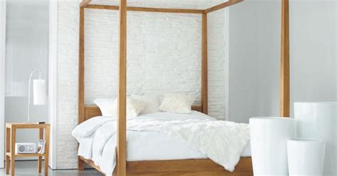 Javan Bed Canopy 160 X 200 Series letto a baldacchino 160 x 200 in massello di tek stockholm bedrooms and canopy