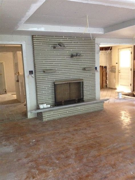 Saltbox Architecture keep or resurface this fireplace surround in gutted