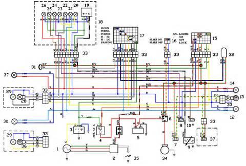 apriliaforum nl toon onderwerp rv3 elektrisch probleem