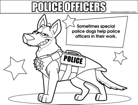 coloring pages of police dogs police dog coloring pages murderthestout