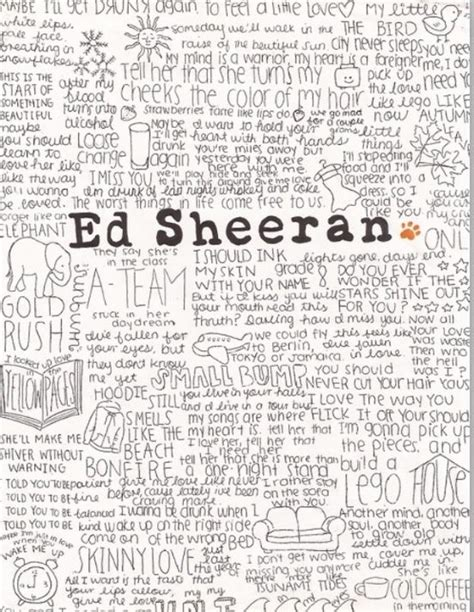 ed sheeran one lyrics meaning 101 best images about music quotes on pinterest